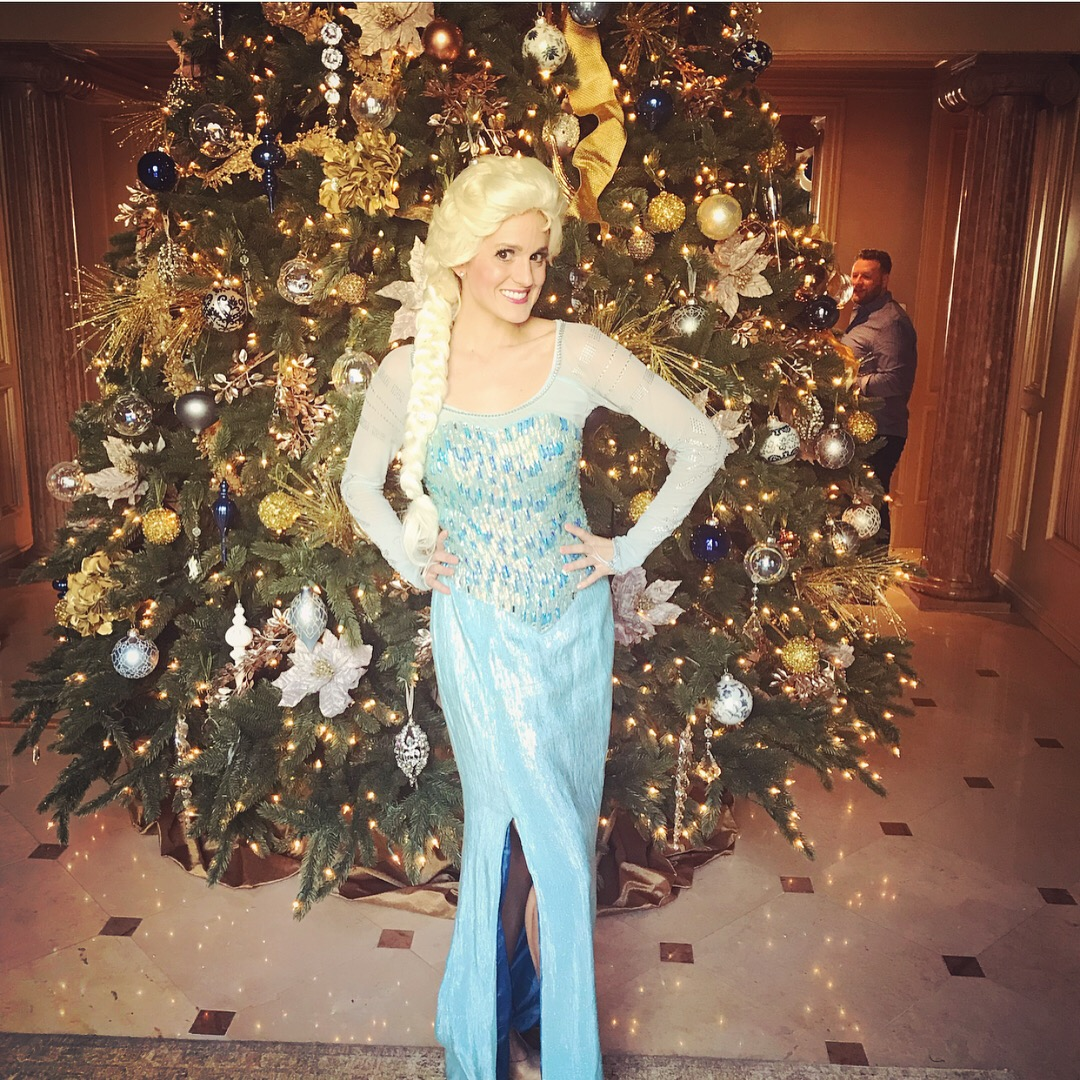 Elsa for Christmas Party