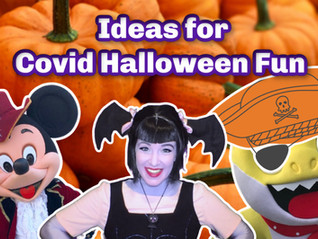 Ideas of things to do with Kids for Halloween during Covid
