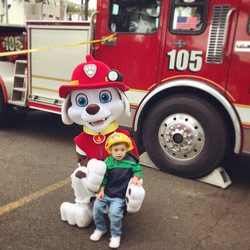 Marshall for hire paw patrol party