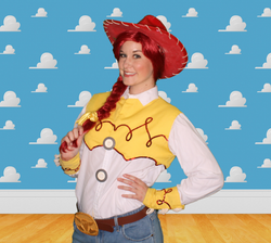 Jessie Party Character