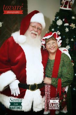 Real bearded Santa for hire