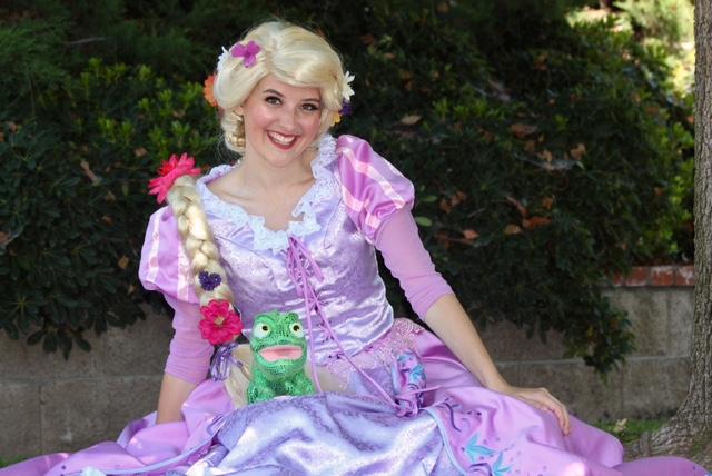 Princess Rapunzel for hire