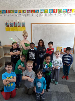 Tinkerbell for birthday party