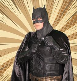 Batman for superhero themed party