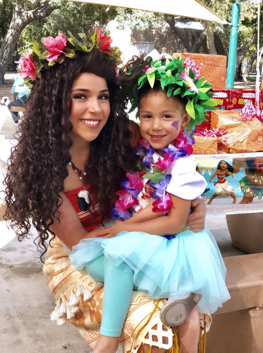 Rent Moana Princess for Party