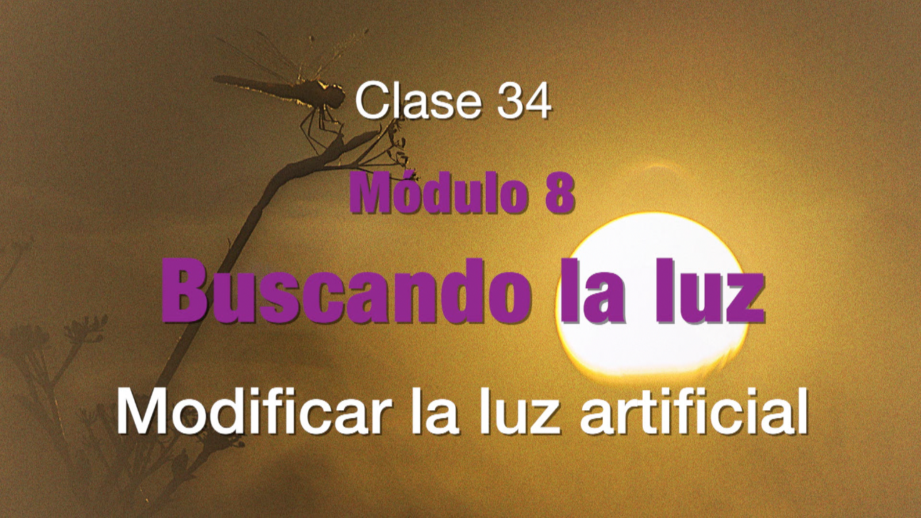Clase 34. Modificar la luz artificial