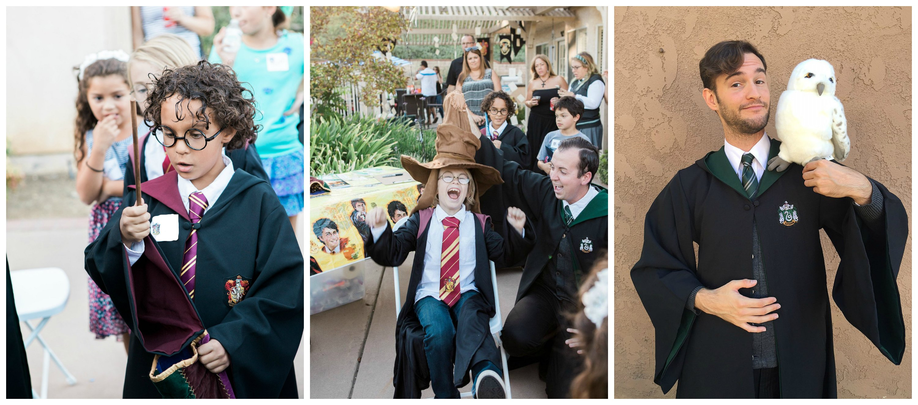 Harry Potter Party Characters