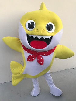 Baby Shark Party Character