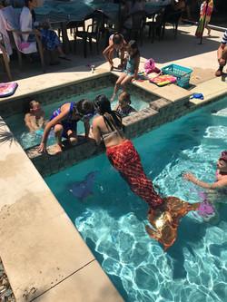Swimming Mermaid for Kids