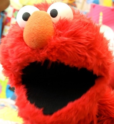 Elmo Party Character