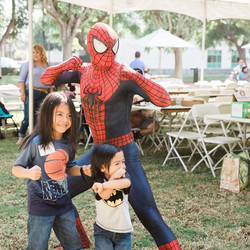 Spiderman Birthday Party Character