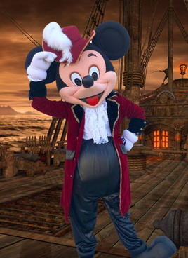 Pirate Mr Mouse
