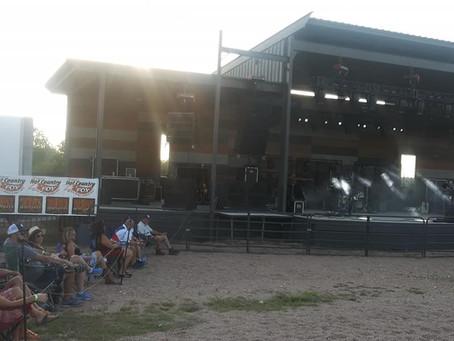 Josh Abbott (with Grant Gilbert) concert  at the Backyard