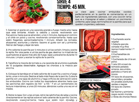 Receta Chorizo Picante