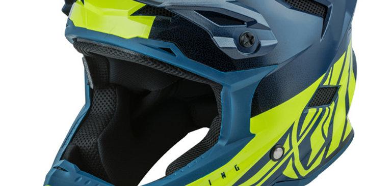 Fly Defualt Helmet Blue/Green