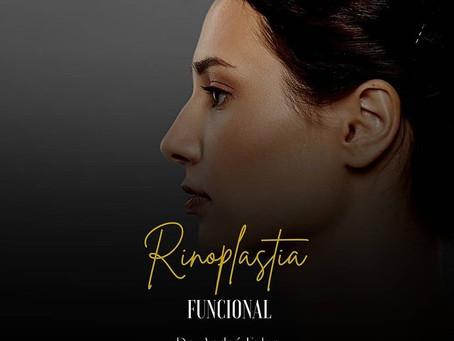 A rinoplastia também pode ser funcional.