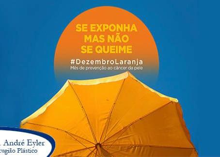 A campanha #DezembroLaranja traz a coloração que nos remete ao sol e ao tom dos corpos bronzeados.