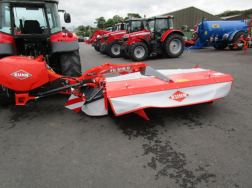 NEW Kuhn FC3115 D Mounted Mower Conditioner