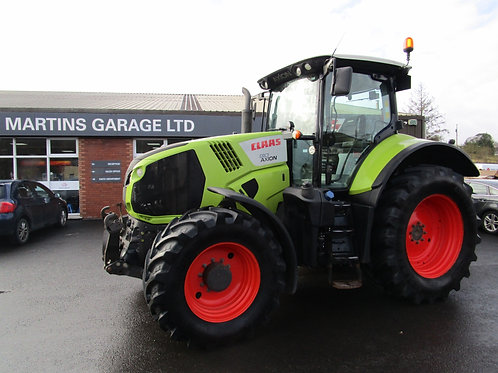 2015 CLAAS Axion 810 4wd Tractor c/w F/Links