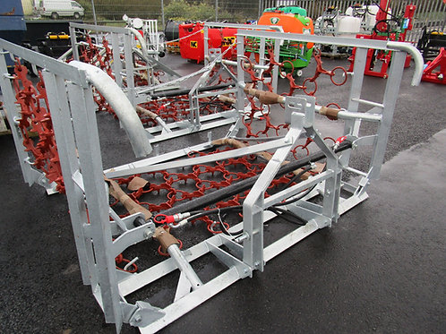 JARMET 4mtr chain harrows galvanised frame
