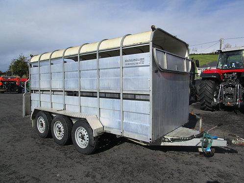 Dyna power 14' Tri axle trailer