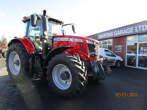 Demo Massey Ferguson 7720 VT 4wd Tractor F/L & PTO