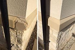 brick stone lintel and brick tinting service