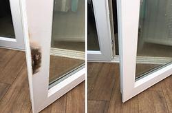 upvc window repair damage