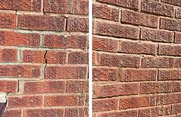 brick damae repair