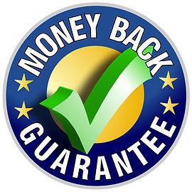 Money back guarantee