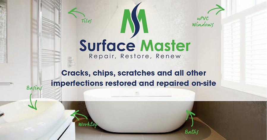 Magic repairs - Damaged sink, basin, shower tray, tiles repairs