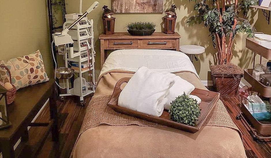 Krysten Organic Esthetician Spa Room