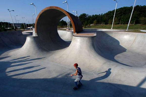 Spring skatepark