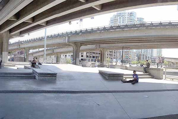 Vancouver Plaza Skate Park