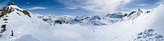 Val d'Isere and Espace Killy ski resort