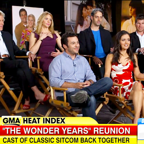Fred Savage - The Wonder Years Reunion Press Interviews
