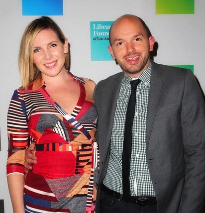 June Diane Raphael and Paul Scheer - Young Literati of The Library Foundation of Los Angeles