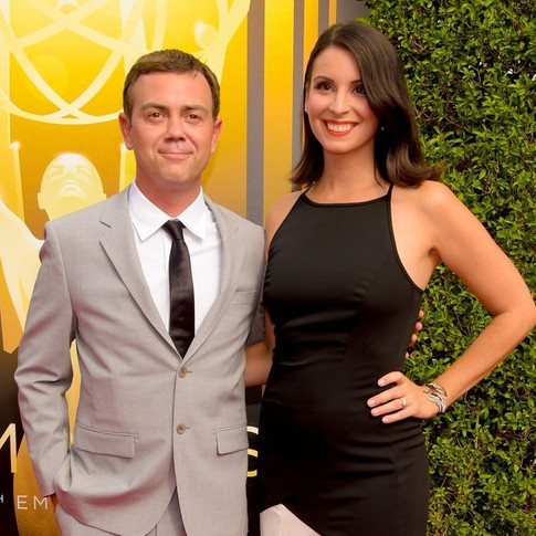 Joe Lo Truglio and Beth Dover - The Emmys