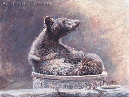 'The Ahh Moment' - Black Bear (Miniature)