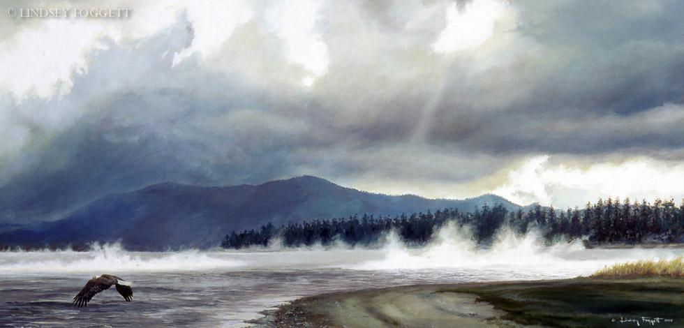 """Storm Rising"" - Bald Eagle"