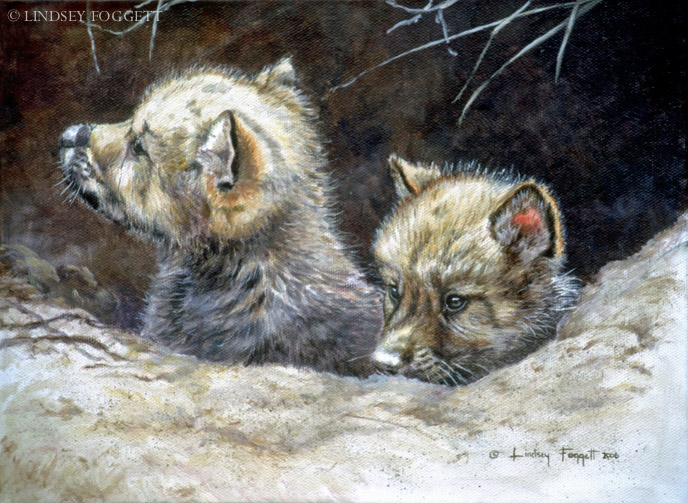 """New World"" - Wolf Pups"