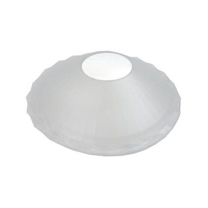 ABAT JOUR(S) - Coupelle Plastique diam 12 cm -Transparente