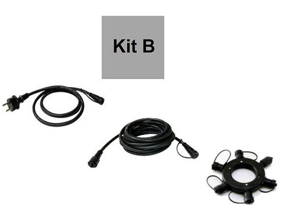 Kit B - Etoile (Prise + Rallonge 5m + Anneau 66310