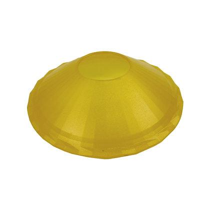 ABAT JOUR (S) - Coupelle plastique diam 12cm - Jaune