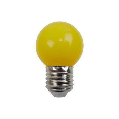 Ampoule - E27/G45 - 0,8/1W - Non dimmable - Jaune