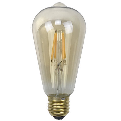 Ampoule E27/ST64 - 4W/320Lumens- 2200°K - Antic