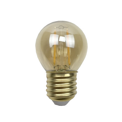 Ampoule E27/G45 - Filament LED 2W/180 Lumens - 2200°K - Antic