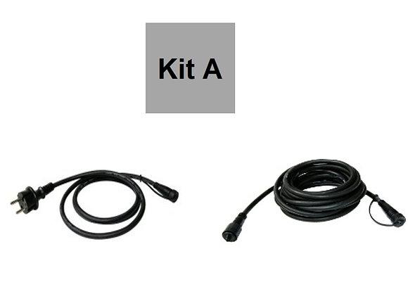 Kit A - Starter (Prise + Rallonge 5m) - Supporte jusqu'à 300m de Guirlandes