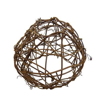 ABAT JOUR (S) - Boule en Osier diam 12cm- Fibre Naturelle