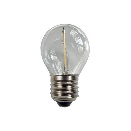 Ampoule E27/G45 - Filament LED - 1W -  3000K°